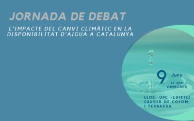 Jornada sobre l'impacte del canvi climàtic en la disponibilitat d'aigua a Catalunya