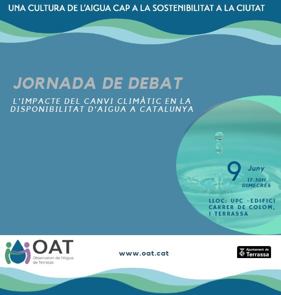 Jornada sobre el impacto del cambio climático en la disponibilidad de agua en Cataluña