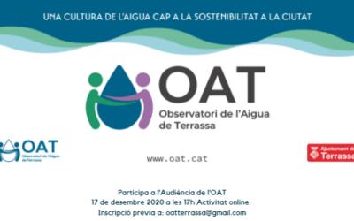 Invitació Audiència online OAT 17 de desembre de 2020