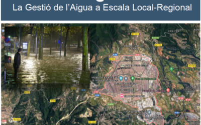 """Xerrada """"Aigua Circular – La Gestió de l'Aigua a Escala Local-Regional"""""""